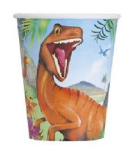 Dinosaur Paper Party Cups